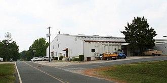 JAARS - A hangar building at the center