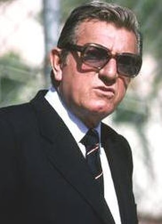 Jean-Marie Balestre - Jean-Marie Balestre as FIA President
