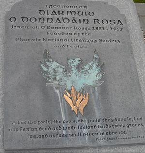 Jeremiah O'Donovan Rossa - Gravestone in Glasnevin Cemetery