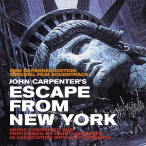 Escape from New York (soundtrack) - Image: John Carpenter 1981 Escape from New York (reissue)