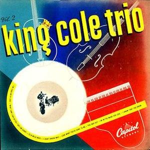 The King Cole Trio (album) - Image: King Cole Trio Vol 2
