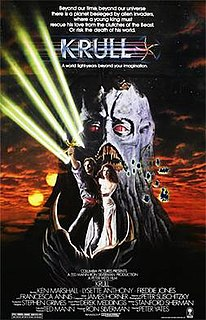 <i>Krull</i> (film) 1983 film by Peter Yates