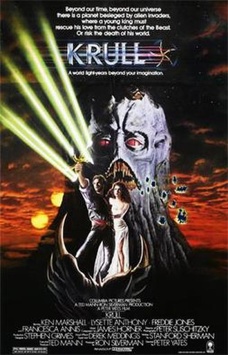 Krull (film) - Theatrical release poster