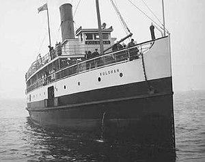 Kulshan (steamship) - Image: Kulshan steamship circa 1912