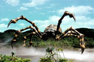 Kumonga - Kumonga as featured in Godzilla: Final Wars (2004)