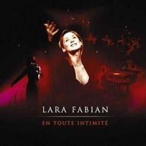 En Toute Intimité - Image: Lara Fabian En Toute Intimite CD Cover