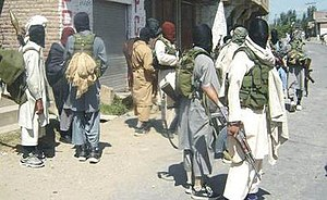 Lashkar al-Zil - Fighters of Lashkar al-Zil in Swat, Pakistan.