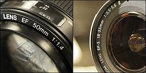 Lens speed - Image: Lensspeed