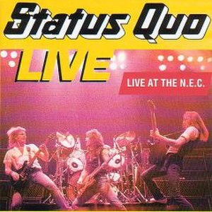 Live at the N.E.C. - Image: Live At The NEC Status Quo