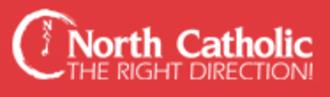 Northeast Catholic High School - Image: Logo northmainheader