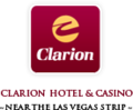 Logo of Clarion Hotel and Casino.png