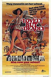 <i>Lovely But Deadly</i> 1981 film by David Sheldon