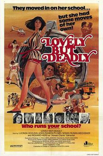 Lovely But Deadly - Theatrical release poster