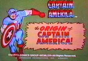The Marvel Super Heroes - A Captain America title card
