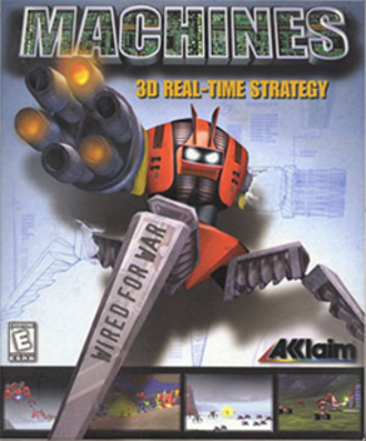 Machines (video game) - Image: Machines Coverart