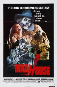 Image result for Madhouse Vincent Price
