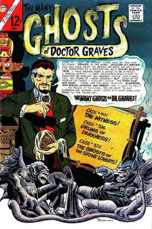 The Many Ghosts of Doctor Graves - Image: Many Ghosts Of Dr Graves n 1