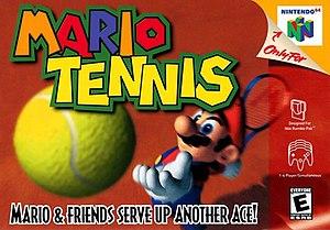 Mario Tennis - Image: Mario Tennis box