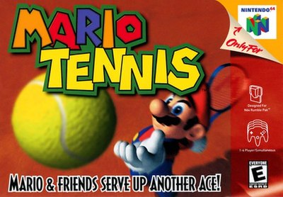 Picture of a game: Mario Tennis
