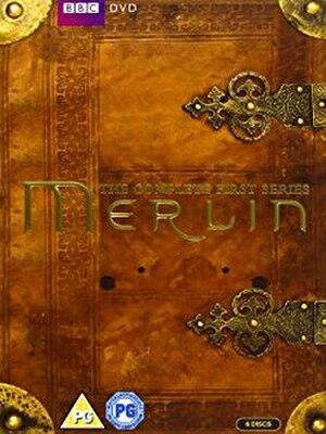 Merlin (series 1) - Complete DVD set box art