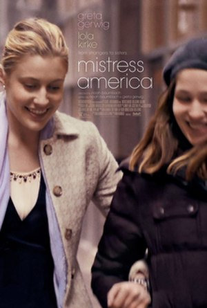 Mistress America - Theatrical release poster