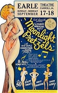 <i>Moonlight and Pretzels</i> 1933 film by Karl Freund