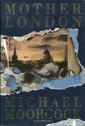 Mother London - Dust-jacket from the first edition