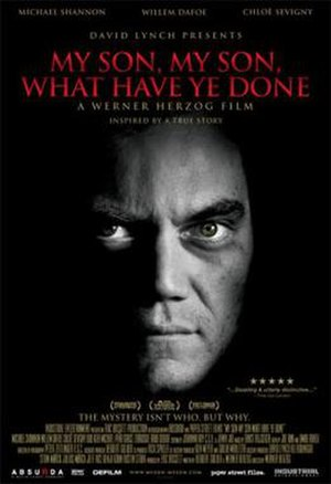 My Son, My Son, What Have Ye Done? - Theatrical release poster