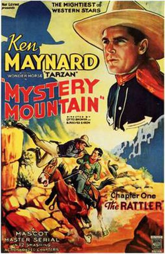 Mystery Mountain (serial) - Theatrical release poster
