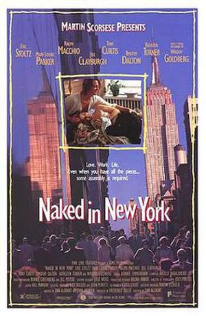 Naked in New York - Theatrical release poster