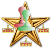 New page review barnstar gold.png