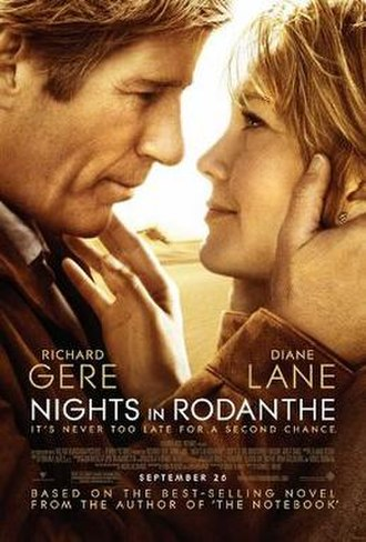 Nights in Rodanthe - Theatrical release poster