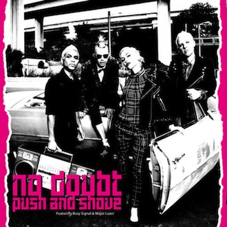 Push and Shove (song) - Image: No Doubt Push and Shove cover artwork