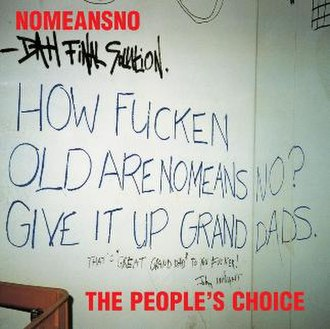 The People's Choice (album) - Image: Nomeansno Peoples Choice