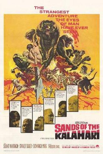 Sands of the Kalahari - film poster by Frank McCarthy