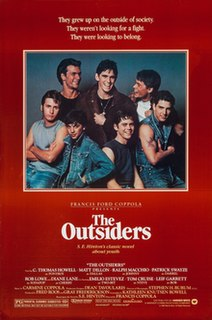<i>The Outsiders</i> (film) 1983 film directed by Francis Ford Coppola