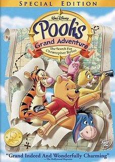 <i>Poohs Grand Adventure: The Search for Christopher Robin</i> 1997 animated Disney film directed by Karl Geurs