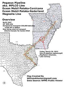 2013 Mayflower oil spill - Wikipedia