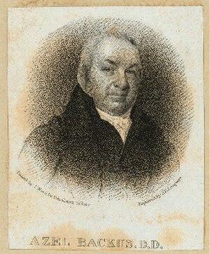 Azel Backus - Portrait of Azel Backus