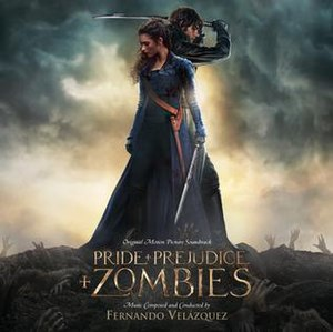 Pride and Prejudice and Zombies (film) - Image: Pride and Prejudice and Zombies Cover