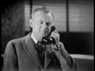 Bernard Quatermass - John Robinson, who took on the role of Quatermass for Quatermass II (1955) following Tate's death