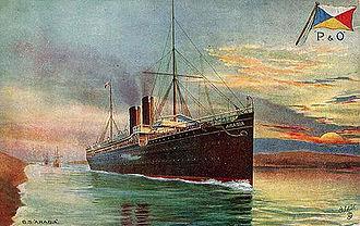 RMS Arabia - Image: RMS Arabia