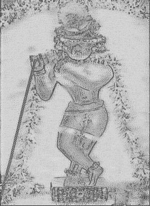 Radha Ramana - Image: Radharaman sketch