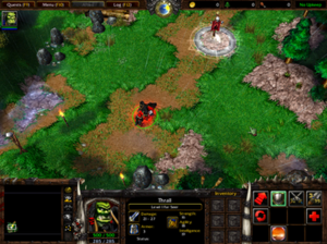 Warcraft III: Reign of Chaos - A screenshot of Warcraft III: Reign of Chaos campaign.