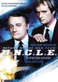 <i>Return of the Man from U.N.C.L.E.</i> 1983 television film directed by Ray Austin