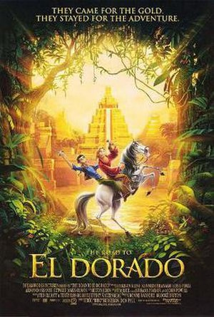 The Road to El Dorado - Theatrical release poster