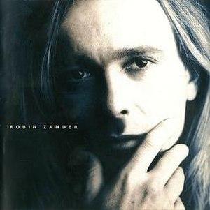 Robin Zander (album) - Image: Robin Zanderalbum