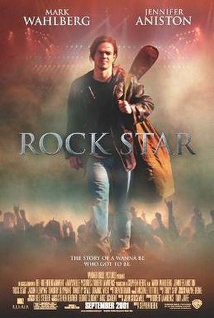 Rock Star (2001 film) - Theatrical release poster