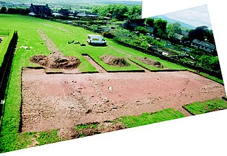 Penrith, Cumbria - General view of Roman road looking south
