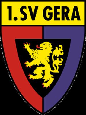 BSG Wismut Gera - Logo of predecessor 1. SV Gera